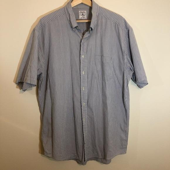 Brooks Brothers Other - Brooks Brothers Large Seersucker Sport Shirt